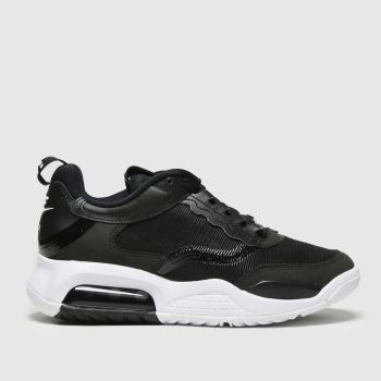 Nike Jordan Black & White Air Max 200 Unisex Youth