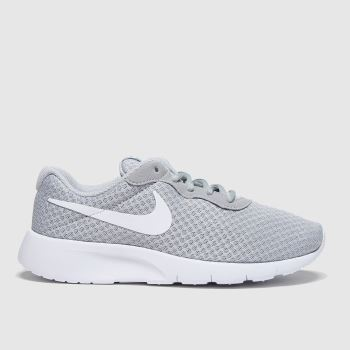 Nike Light Grey Tanjun Unisex Youth#