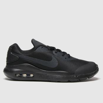Nike Black Air Max Oketo Unisex Youth#