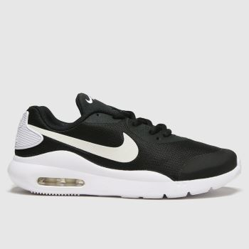 Nike Black & White Air Max Oketo Unisex Youth