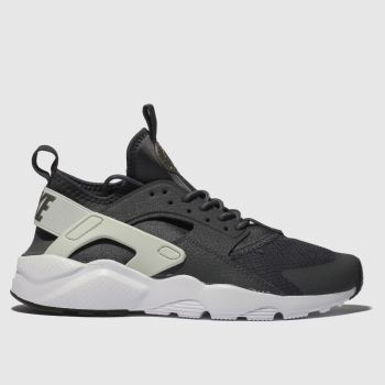 Nike Dark Grey Huarache Run Ultra Unisex Youth