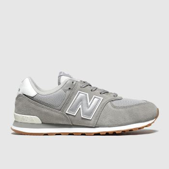New Balance Grey 574 Unisex Youth
