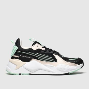 Puma Black & pink Rs-x Joy Unisex Youth