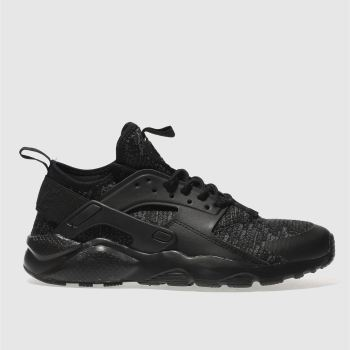 Nike Black Huarache Run Ultra Se Unisex Youth