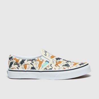 Vans Naturfarben Slip-on The Simpsons Unisex Jugendliche