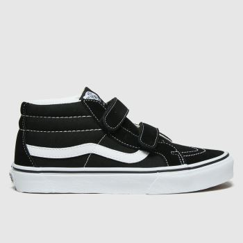 Vans Black & White Sk8-mid Reissue V Unisex Youth#