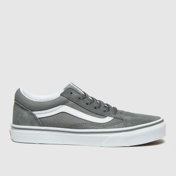 Vans Grey Old Skool Unisex Youth#