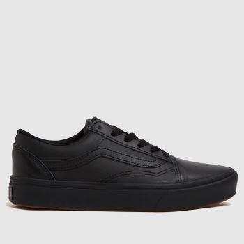 Vans Black Comfycush Old Skool Unisex Youth
