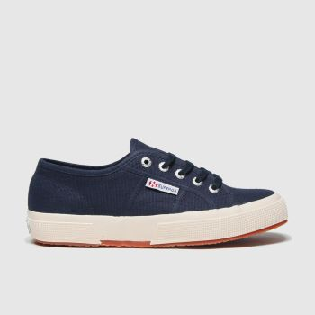 Superga Navy 2750 Classic Unisex Youth