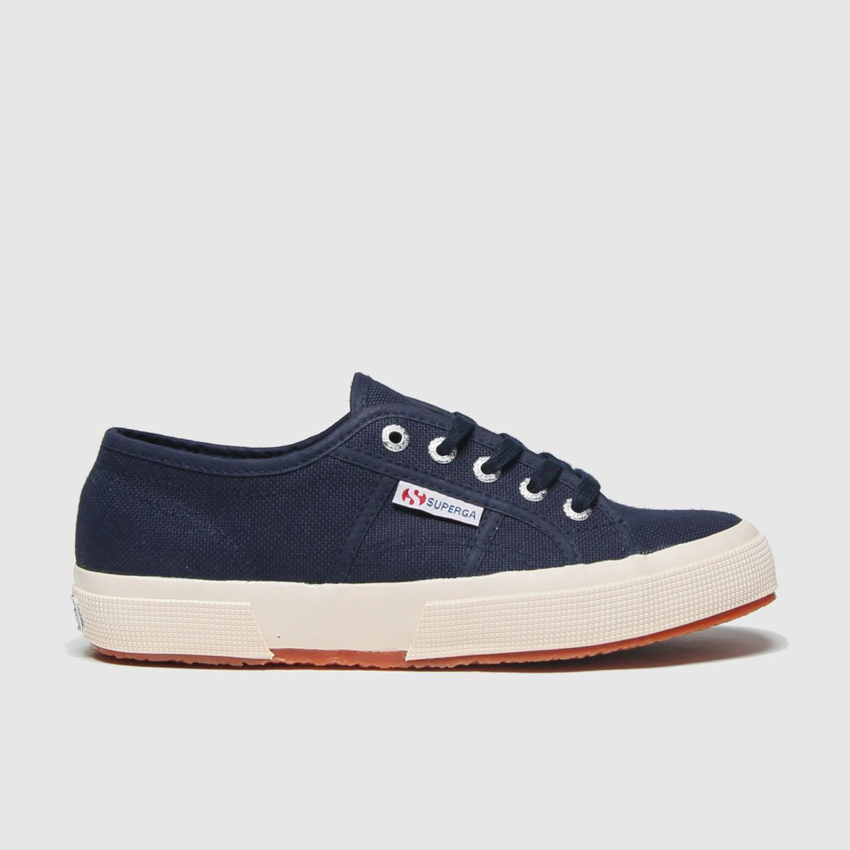 Superga Navy 2750 Classic Trainers Youth