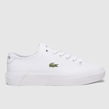 Lacoste White Gripshot Unisex Youth