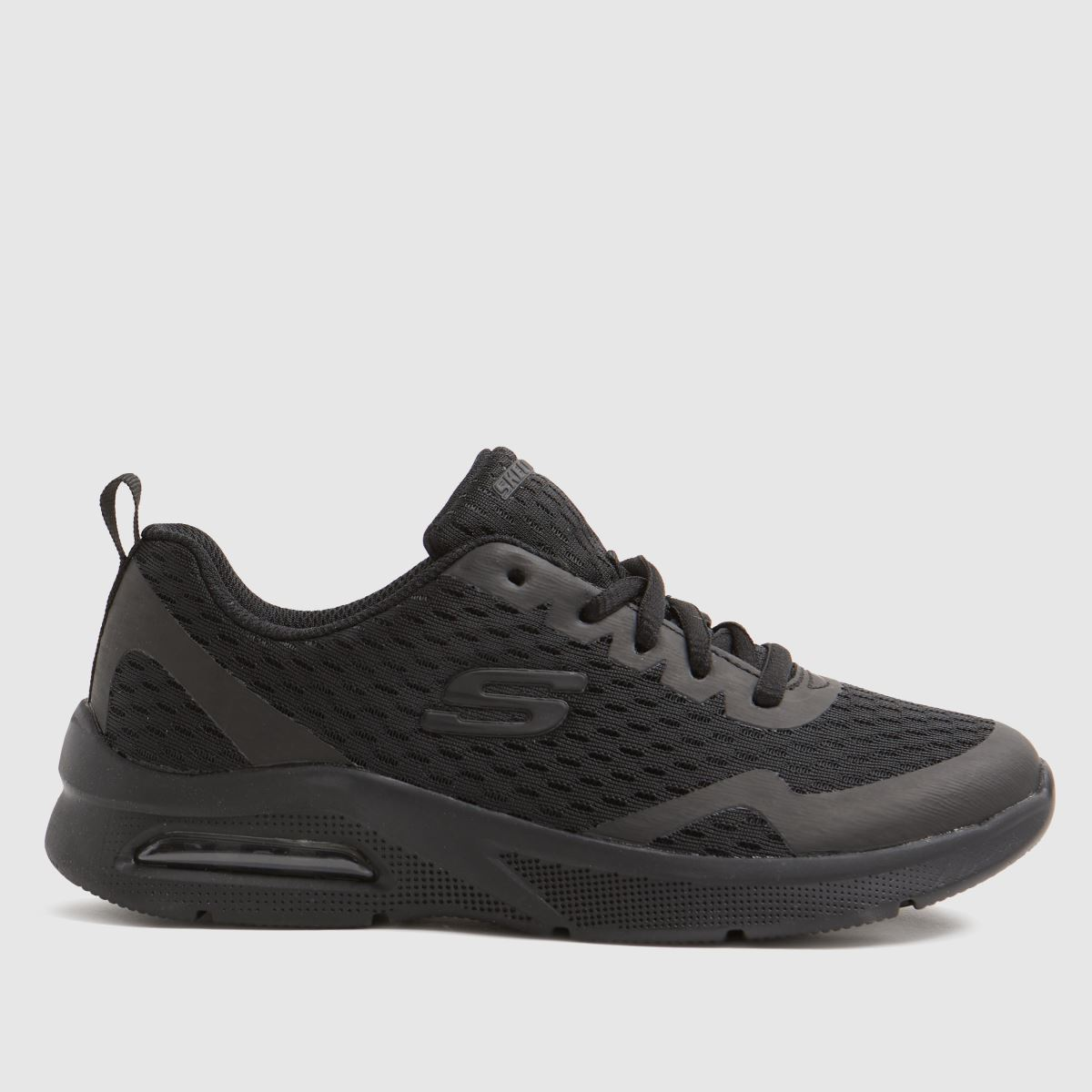 SKECHERS Black Microspec Max Trainers Youth