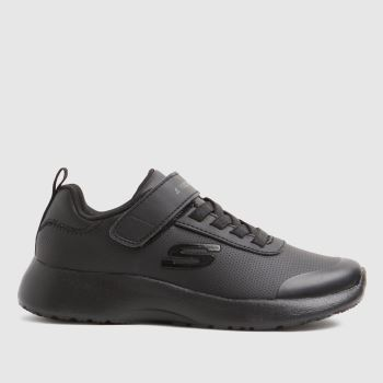 SKECHERS Black Dynamight D.s Unisex Youth