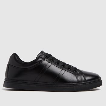 schuh Black Mutual Lace Up Unisex Youth