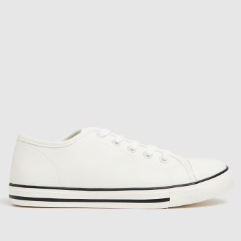schuh White Millionaire Lace Up Unisex Youth