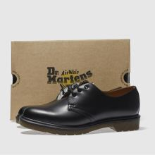 dr martens black gibson shoes
