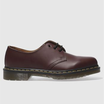 Dr Martens Burgundy 1461 Shoe Mens Shoes