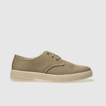 Dr Martens Khaki Delray Mens Shoes