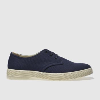 Dr Martens Navy Delray Mens Shoes