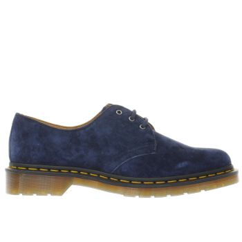 Dr Martens Navy 1461 3 EYE Shoes