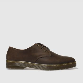 Dr Martens Brown Cruise Coronado Mens Shoes#