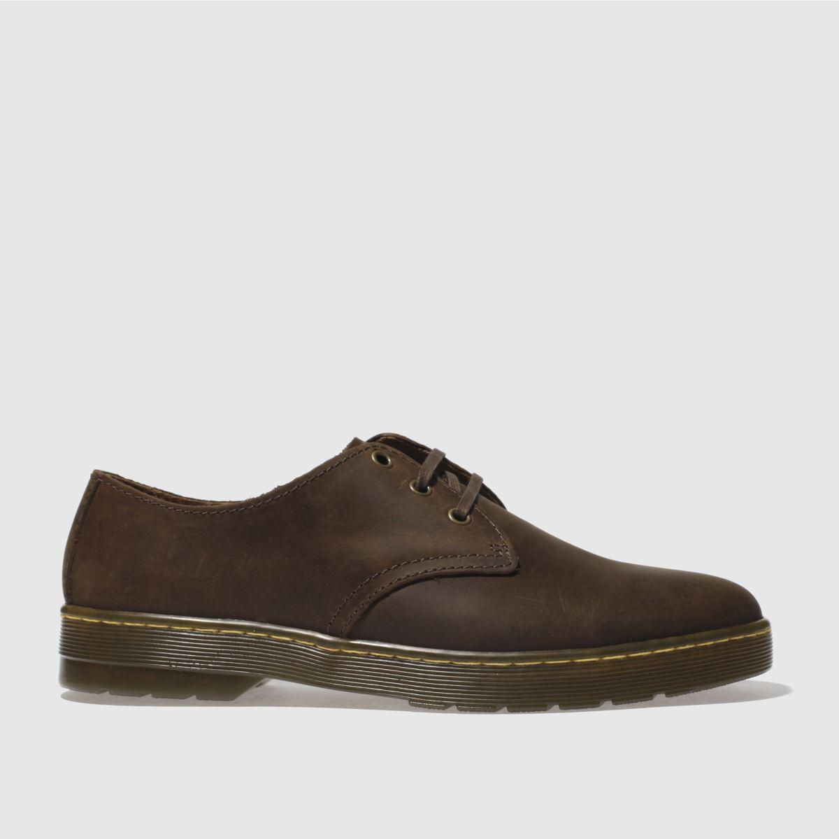 Dr Martens Brown Cruise Coronado Shoes