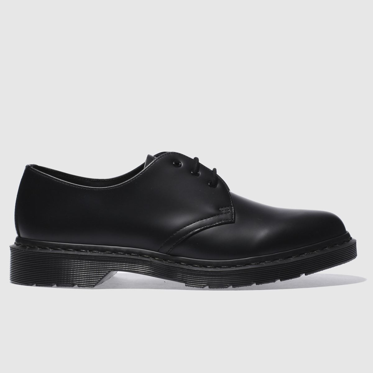 Dr Martens Black 1461 Mono Shoes