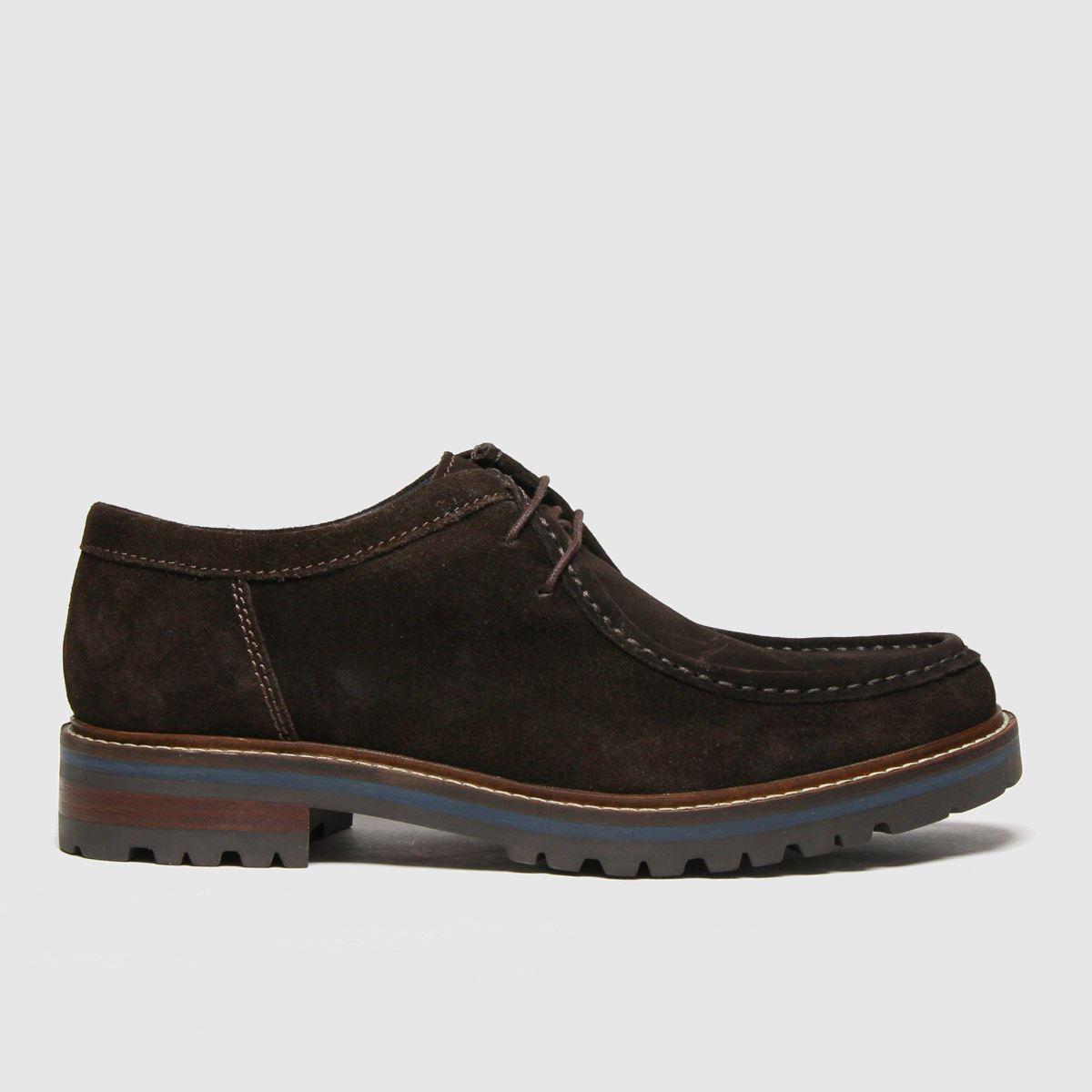 Base London Dark Brown Tamworth Shoes