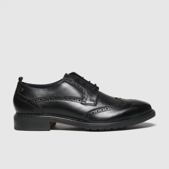 Base London Black Lennox Mens Shoes