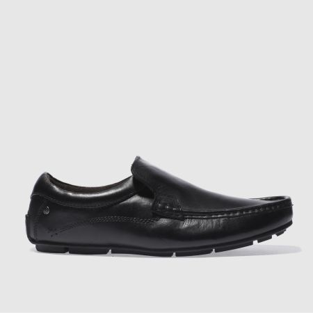 mens black base london britain loafer shoes schuh