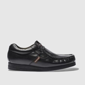 Base London Black VEE 2 TAB APR Shoes