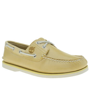 TIMBERLAND YELLOW CLASSIC BOAT SHOES