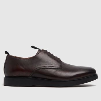 H BY HUDSON Brown Barnstable Mens Shoes