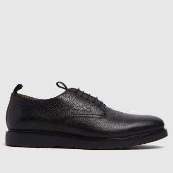 H BY HUDSON Black Barnstable Mens Shoes