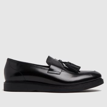 H BY HUDSON Black Calverston Loafer Mens Shoes