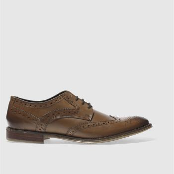 Ikon Tan Poster Brogue Ii Mens Shoes