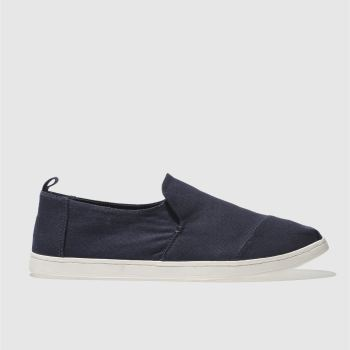 Toms Navy DECONSTRUCTED ALPARGATA Shoes