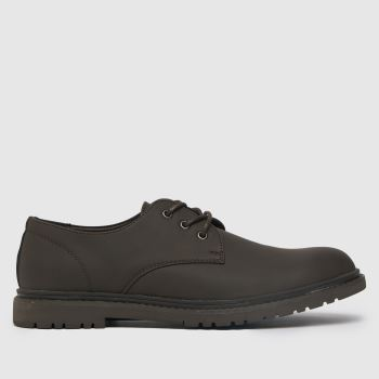 schuh Brown Perry Derby Mens Shoes