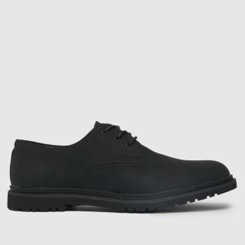 schuh Black Perry Derby Mens Shoes