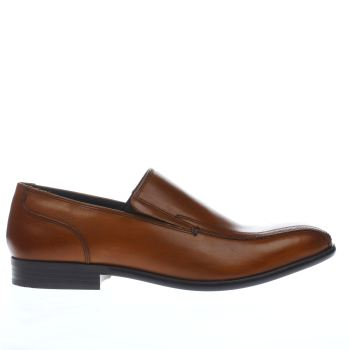 Base London Tan Idol Tram Slip Mens Shoes