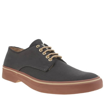 Bass Navy Scholar Stanford Derby Mens Shoes