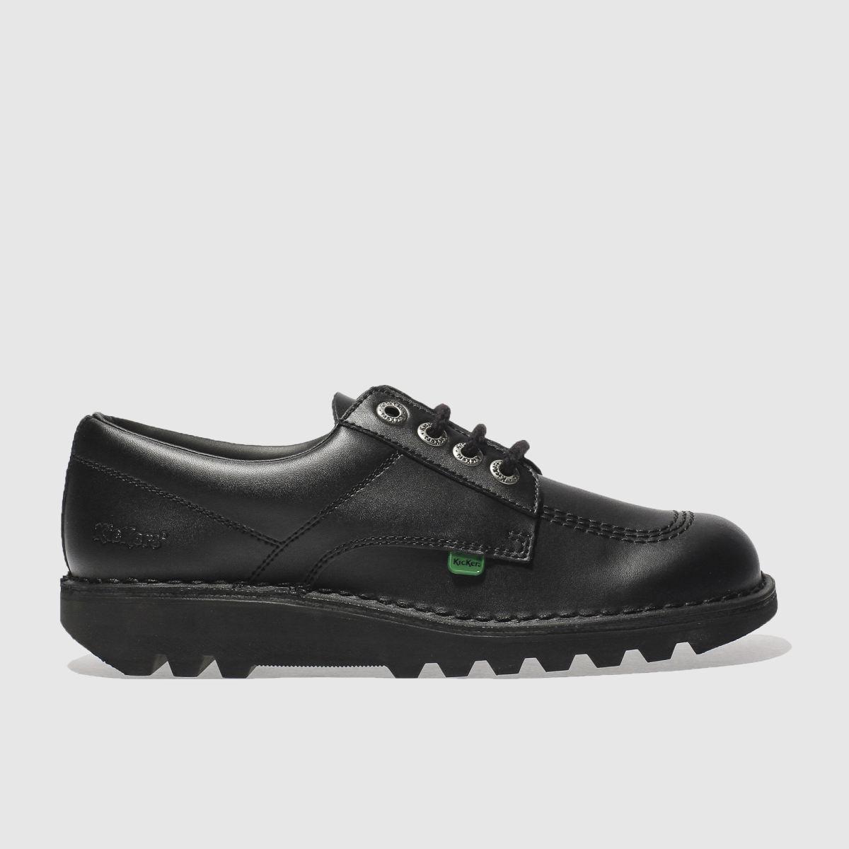 Kickers Black Kick Lo Shoes