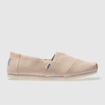 Toms Orange Classic Venice Mens Shoes