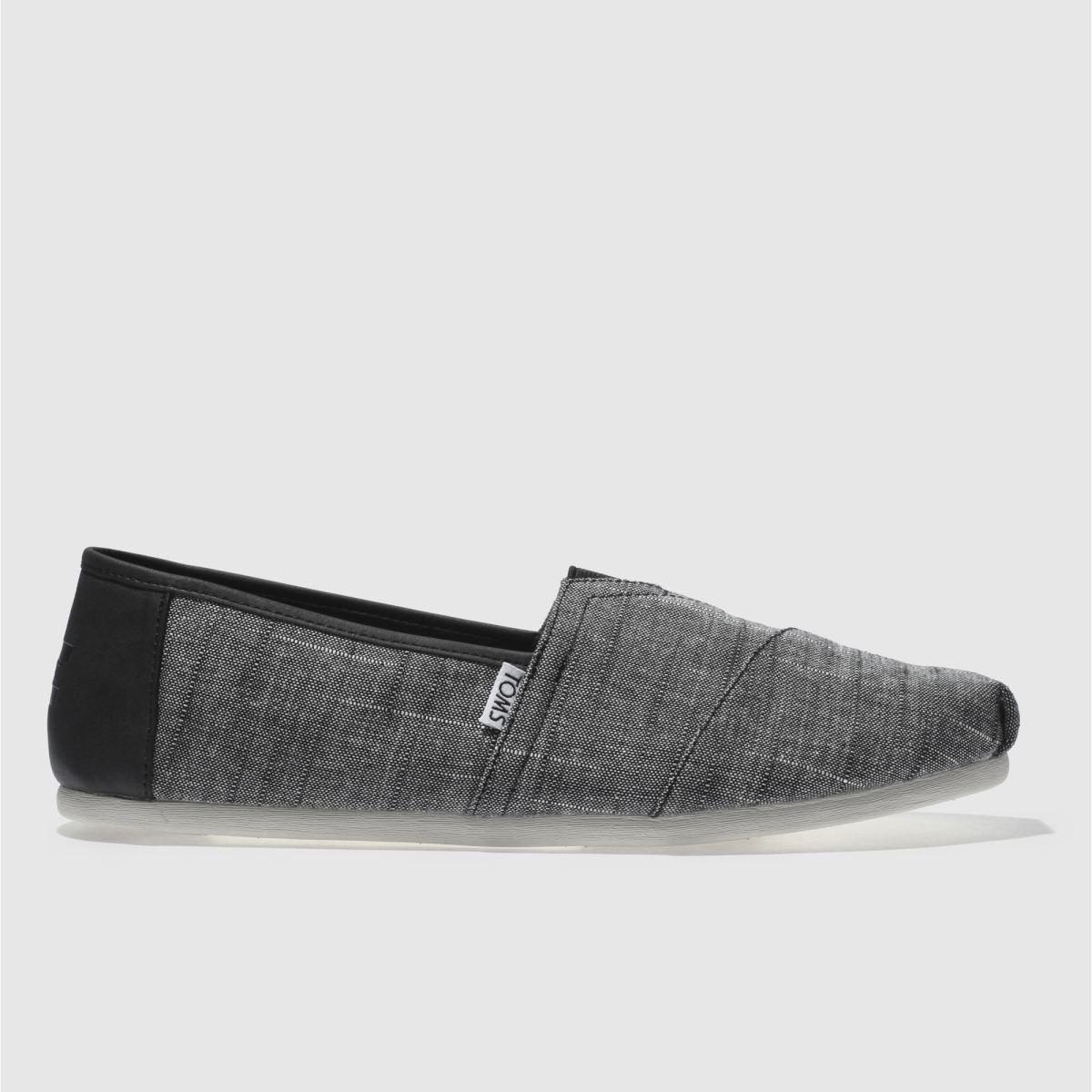 Toms Black & Grey Classic Shoes