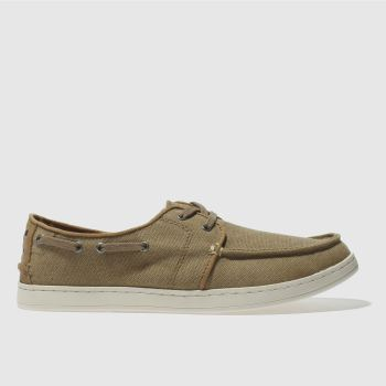 Toms Tan Culver Lace Up Mens Shoes