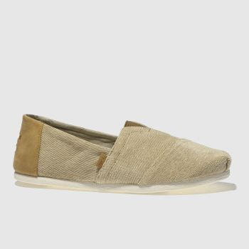 Toms Natural Seasonal Classic Mens Shoes