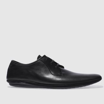 Base London Black Pimple 3eye Lace Shoes