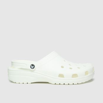 crocs White Classic Mens Sandals