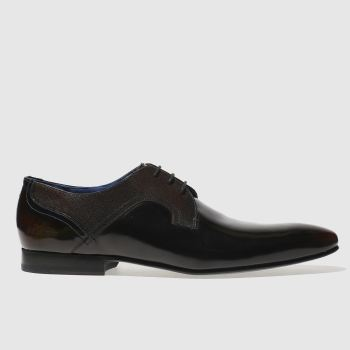 Ted Baker Burgundy Pelton Mens Shoes