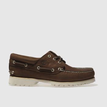 Timberland Brown Chilmark 3 Eye Mens Shoes